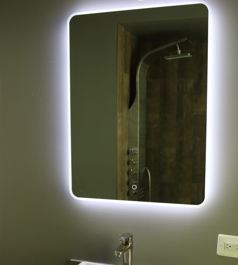 "Windbay 30"" Backlit Led Light Bathroom Vanity Sink Mirror. Illuminated Mirror."